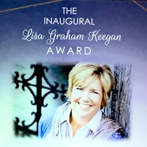 Lisa Graham Keegan is honored for her years of service.